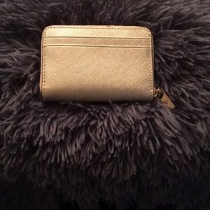 MICHAEL Michael Kors Bags - A Gold Michael Kors ZIP Around Wallet